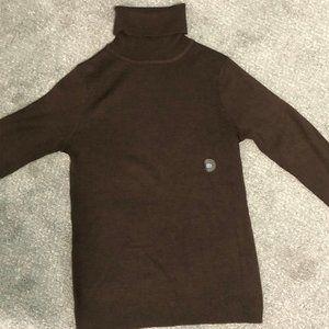 Old Navy women's Brown turtleneck sweater